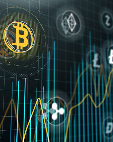 Bitcoin and other virtual money. Gunton had more than $380,000 worth of crypto-currency. Picture: Th
