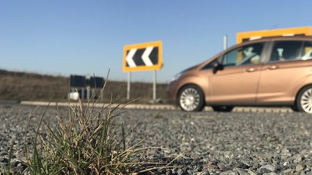 Works have been completed on six roundabouts on the Broadland Northway. Picture: Neil Didsbury