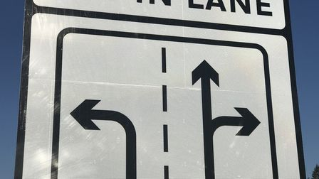 Norfolk County Council has added signs on the Broadland Northway to help drivers confused by the rou