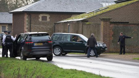 A replacement Land Rover was delivered to the Duke of Edinburgh at the Sandringham estate just hours