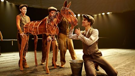 War Horse at the New London Theatre Credit: Photography by Brinkhoff Mögenburg