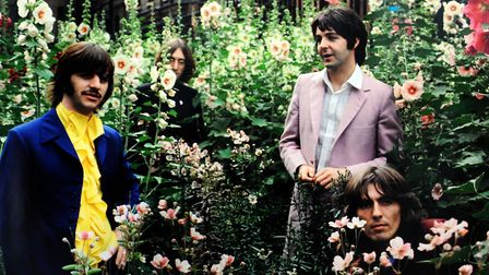 One of Tom's iconic Beatles photos PICTURE: Andy Abbott