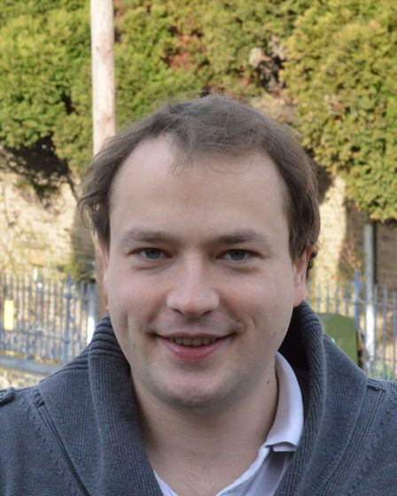Martin Schmierer, Green candidate for Mancroft. Pic: Green Party.