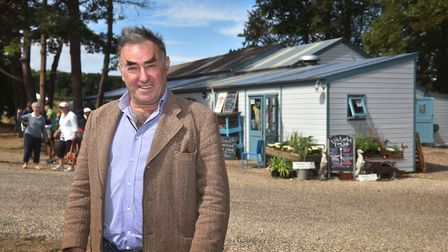 Wiveton Hall owner Desmond MacCarthy. Picture: ANTONY KELLY