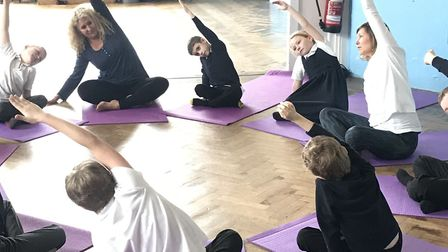 Reedham Primary is one of three in Norfolk taking part in a pilot by Special Yoga to bring yoga, and