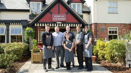 Staff at the Captain Manby Toby Carvery in Gorleston