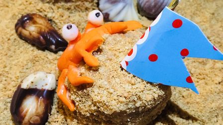 Make our sandcastle cakes Picture: Archant