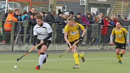 Tom Dunnett helped Harleston Magpies to a 5-3 win at Saffron Walden Picture: PAT LEATE