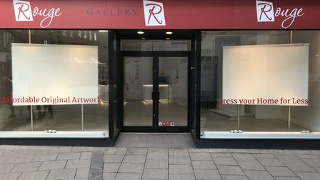 Gallery Rouge has shut for the forseeable future. Picture: Archant