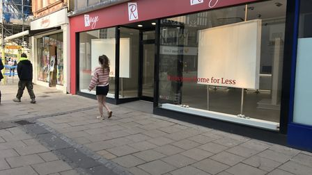 Gallery Rouge in Orford Place has temporarily shut. Picture: Archant