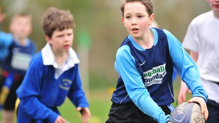 Beccles Rugby club Inter schools Tag rugby Tournament.