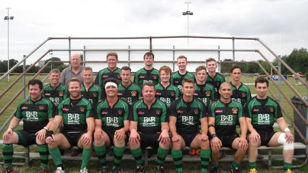 The current Beccles Rugby Club first team - Beccles Bulls
