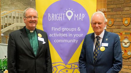 The launch of the Bright Map project. Photo: Network Norfolk