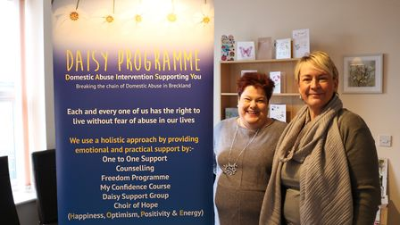The Daisy Programme, which supports local people who have experienced domestic abuse, is one of the