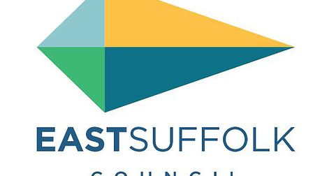 The logo for East Suffolk Council. Photo: Waveney District Council.