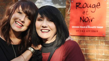 Jane Rice-Smith, owner of Rouge Et Noir in Dereham, is planning to be silent from 9am to 2pm on Tues