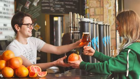 Brewdog are offering a free beer in exchance for a grapefruit Credit: Brewdog
