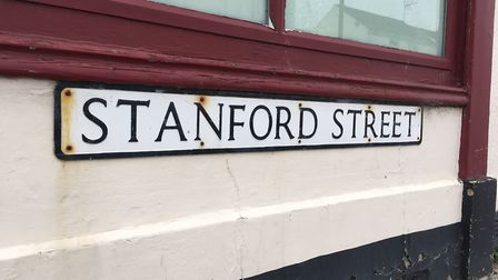 Stanford Street in Lowestoft, which was the scene for a targeted attack. TOM CHAPMAN