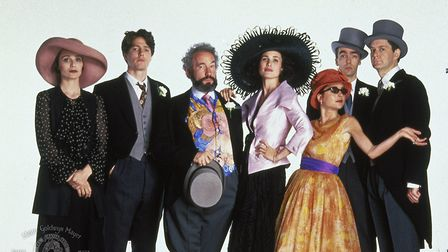 Is Four Weddings and a Funeral Britain's greatest film? Kristin Scott Thomas, Hugh Grant, Andie MacD
