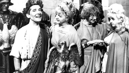 Carry On Cleo starring Kenneth Williams, Charles Hawtry and Joan Sims Photo: Canal Plus
