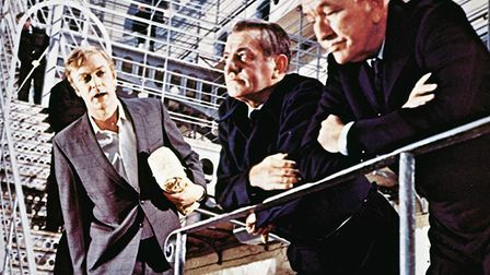 Michael Caine and Noël Coward in The Italian Job (1969). Photo: Paramount Pictures Corporation/IMDB