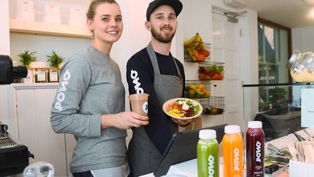 Georgia Lewis and Ashley Linford, owners of Pono in Norwich. Picture: DENISE BRADLEY