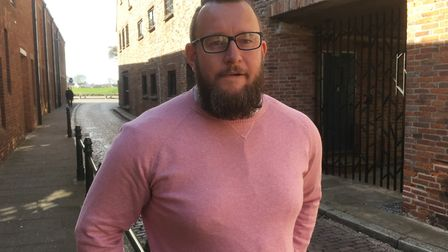 Aaron Wick leaving court after admitting a wounding charge Picture: Archant