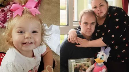 Jessica Lacey Duggan was found dead in her cot after being caught in a baby monitor cord. Pictures: