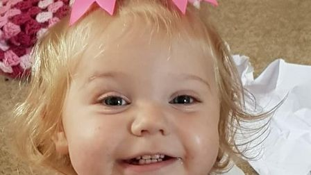 Jessica Lacey Duggan was found dead in her cot after being caught in a baby monitor cord. Picture: S