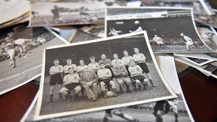 Photographs from Ralph Hunt's career in football. PICTURE: Jamie Honeywood