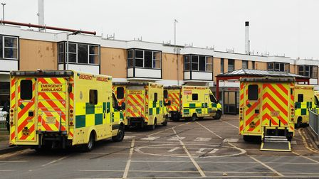 The Queen Elizabeth Hospital has worked on reducing ambulance handover delays. Picture: Chris Bishop