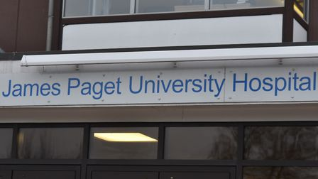 The James Paget Hospital is the best performing in Norfolk for A&E waiting times. Photo: Sonya Dunca