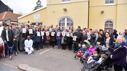 Norwich Mosque held a remembrance and solidarity event for the victims of New Zealand shootings. PIC