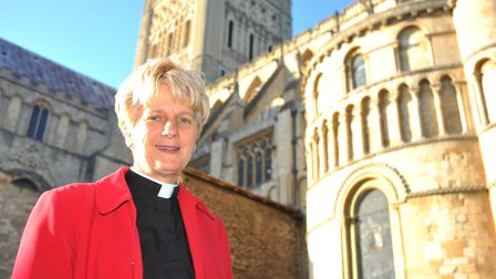 The Very Rev Jane Hedges, Dean of Norwich Cathedral. Photo: Bill Smith