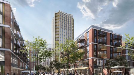 Plans for the 20-storey tower in Anglia Square. Photo: Weston Homes