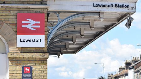 Lowestoft central railway station on Denmark Road, Station Square. Picture: James Bass