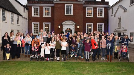 Families gather at the Assembly House for World Down's Syndrome Day. Picture: Sonya Duncan