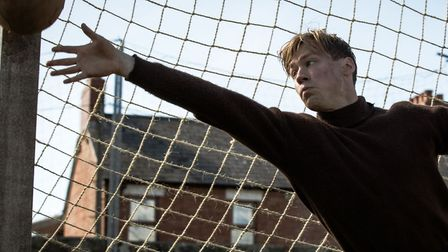 The Keeper is the story of former German Prisoner of War Bert Trautmann becoming a football hero in