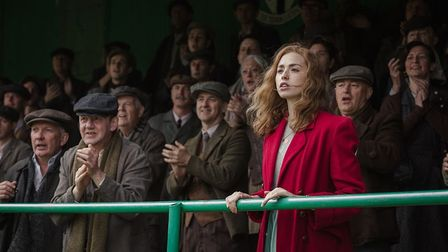 The Keeper focuses on the relationship between Bert Trautmann and Mark's mum Margaret. Picture: Park