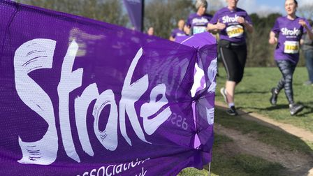 Hundreds of runners turned out at Catton park in Norwich for the Resolutuion Run for the Stroke Asso