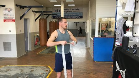 Liam Walsh has a return fight at Brentwood on May 11 Picture: Chris Lakey