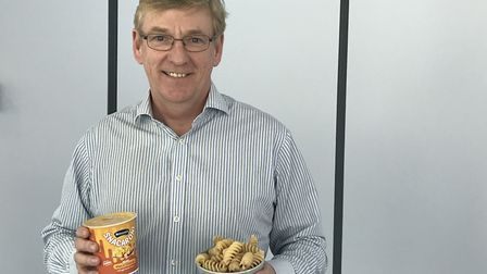 Gordon Chetwood, MD of Pasta Foods, which is taking on the Italians to make pasta. Pic: Victoria Per