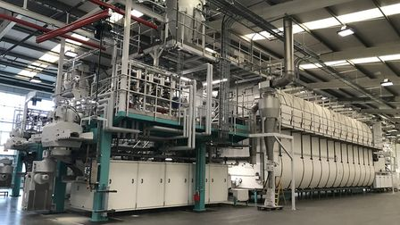The new production line from Switzerland. Pic: Victoria Pertusa, Archant.