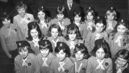 Beccles Guides, 6 December 1976. Photo: Archant Library