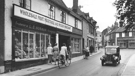 Fruit shop in Beccles, 1959. Photo: Archant Library