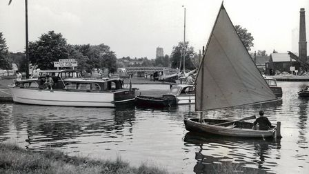 Beccles Yacht Station, 1 January 1964. Photo: Archant Library