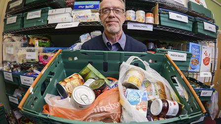 King's Lynn Foodbank, which has asked supporters to put baked bean donations on hold Picture: Matth