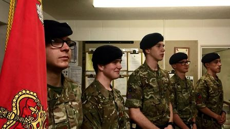 Diss detachments Senior Non-Commissioned Officers (NCO's) Cpl Ben Pearce, Cpl Nathan Pearce, Cpl Sem