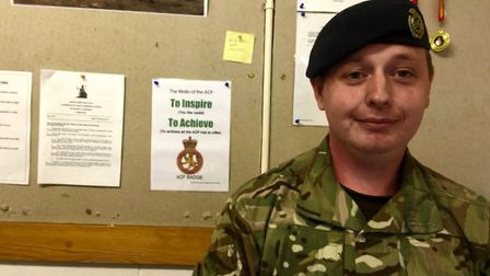 Staff Sergeant Peter Frewin was a cadet for seven years before being detachment commander two years