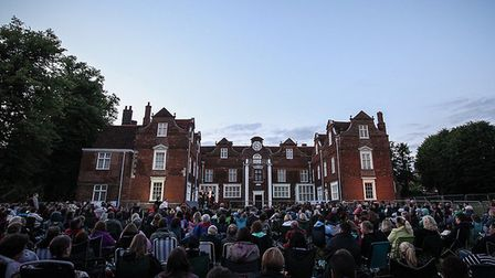 One of The Pantaloons' summer audiences at Christchurch Park in Ipswich. Picture: Jen O'Neill
